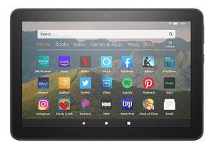 Amazon Fire HD 8, 20,3 cm (8 Zoll), 1280 x 800 Pixel, 32 GB, 2 GB, 2 GHz, Schwarz