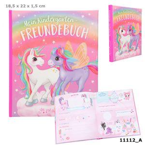 Depesche 11112 Ylvi & the Minimoomis Kindergarten-Freundebuch Naya Einhörner