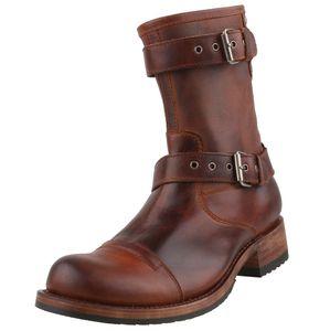 Sendra Herren Stiefel 11240 Braun, Schuhgröße:EUR 43