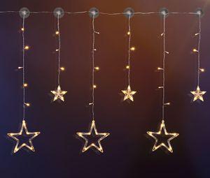 LED Sternenvorhang mit 63 LEDs