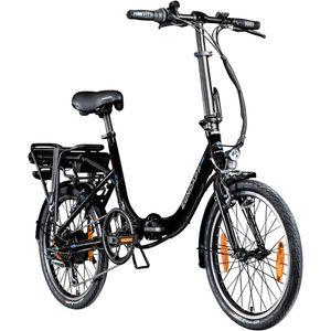 Zündapp Z110 20 Zoll E Bike Elektro Bike Pedelec Faltrad E Klapprad E Fahrräder leichte Ebikes 20' Urban E Bikes Stadtrad, Farbe:schwarz, Rahmengröße:33 cm