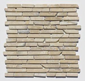 1 qm ST-1-442 Marmor Mosaikfliesen Wand-Design Badezimmer Naturstein-Wand Stabmosaik Fliesen Lager Verkauf Stein-Mosaik Herne NRW