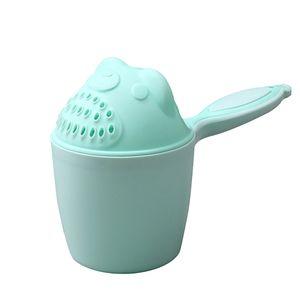 Baby Shampoo Cup Baby Loeffel Dusche Bad Wasser Bailer Badhelfer Kinder Badutensilien