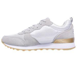 Skechers Retros Damen Sneaker Grau Schuhe, Größe:39