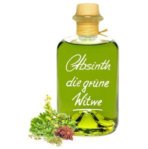 Absinth Die Grüne Witwe 1L Testurteil SEHR GUT(1,4) Maximal erlaubter Thujongehalt 35mg/L 55%Vol