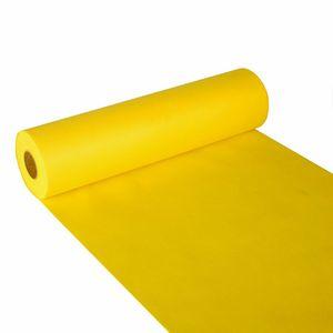 4 Tischläufer, stoffähnlich, Vlies  soft selection  24 m x 40 cm gelb
