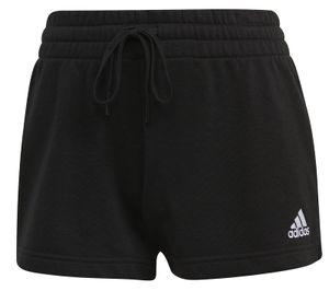 adidas Core Damen Fitness-Sport-Short Essentials Regular Shorts schwarz weiss, Größe:S