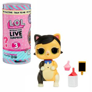 MGA Entertainment Inc. MGA Entertainment L.O.L. Surprise! Interactive Live Surprise - Mehrfarbig - Kunststoff - 12 Jahr(e) - Mädchen - Innenraum - LR44