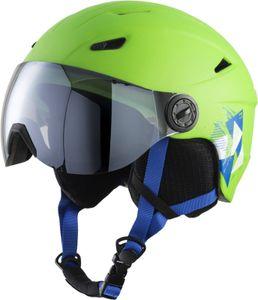 TecnoPro Kinder Ski-Helm Skihelm Pulse JR S2 grün, Größe:S