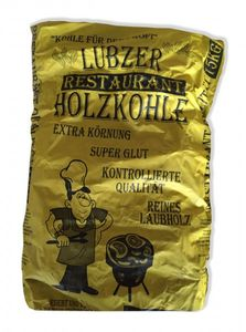 Lübzer Restaurant Holzkohle 15 kg