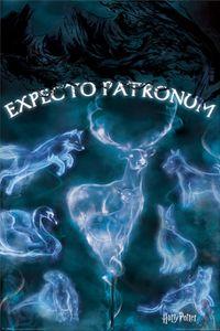 Harry Potter Poster - Expecto Patronum, Patronus Tiere (91 x 61 cm)