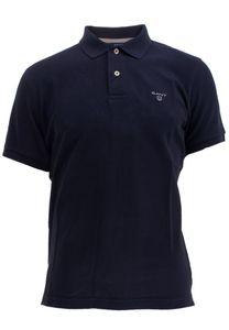Gant Herren Poloshirt Summer Pique Rugger, Größe:M, Farbe:Blau(433)