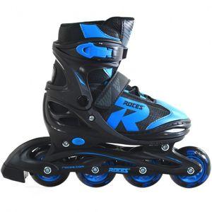 Inline-Skates Jokey 2.0 Jungen schwarz / blau Größe 26-29