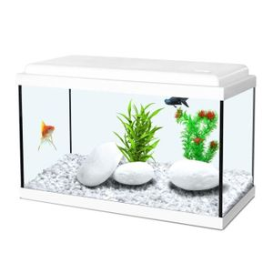ZOLUX Aquarium Nanolife Kidz - 18 l - 40 x 20 x 25 cm - Weiß
