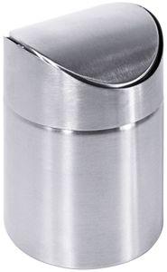 Contacto Tischabfallbehälter 9cm Edelstahl