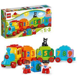 LEGO 10847 DUPLO Zahlenzug, Baby Spielzeug, Zug, Kinderspielzeug ab 1,5 Jahren, preisgekröntes Lernspielzeug, Motorikspielzeug