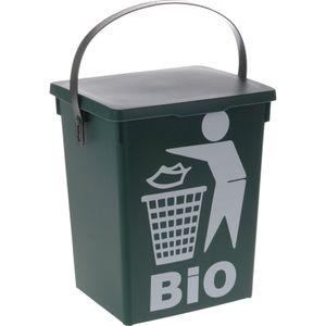 Biomülleimer mit DeckelMülleimer geruchsdicht Abfalleimer