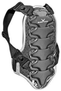 BLACK CREVICE - Wintersport Rückenprotektor - Farbe: Schwarz - Größe: XL (176-190 cm)