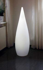 Design Stehlampe Kegel 120cm mit Fernbedienung Kabellos anwendbar Lampe Stimmungslicht