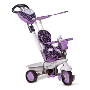 smarTrike Dreiräder Kinder Dream 4-in-1 Junior Violett/Grau