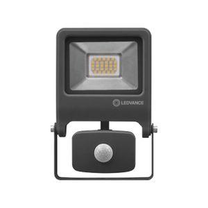 LEDVANCE ENDURA FLOOD SENSOR 20 W LED Wandstrahler Kaltweiß 18,9 cm Aluminium Dunkelgrau