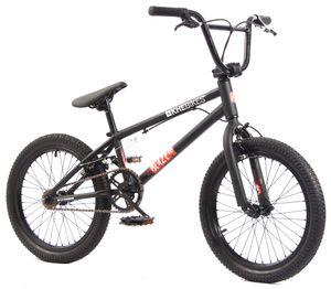 KHE BLAZE 18 Zoll BMX Rad 10,2kg! schwarz-Copy