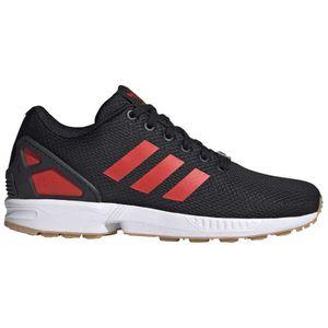 Adidas Originals Zx Flux Core Black / Hi Res Red / Footwear White EU 42 2/3