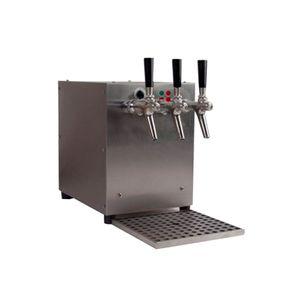 Getränke-Durchlauferhitzer, 9kW, mit elektrischer Pumpe, 3-leitig, Edelstahl-Gehäuse