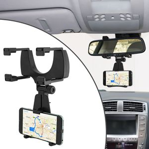 Universal Smartphone Autohalterung für KFZ-Rückspiegel