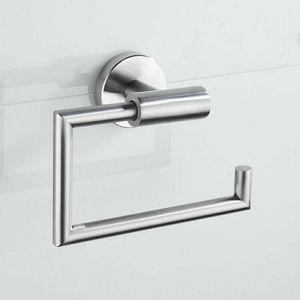 Edelstahl Spirella Toilettenpapierhalter Bad Klorollenhalter WC Rollenhalter