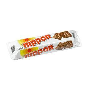 Nippon Choco Crunchies Puffreis mit Milchschokolade überzogen 200g