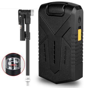 Mini Fahrradpumpe elektrische Luftpumpe mini tragbarer Kompressor mit Powerbank