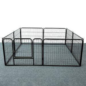 Welpenauslauf Laufgitter Welpenfreigehege Freilaufgehege Hundegehege Laufstall Zaun Gitter Welpen 8-Eck Freilaufgehege