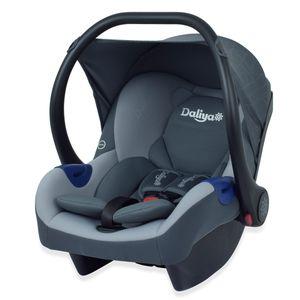 Daliya ® Cariyo Babyschale fürs Auto 0-13 kg Gruppe 0+ / passend für Kinderwagen Daliya Turniyo / Dunkelgrau