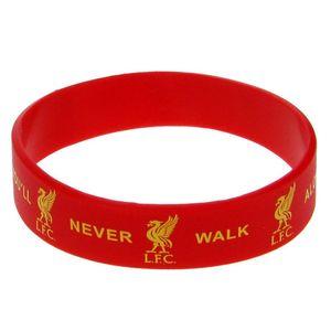 Liverpool FC offizielles Silikon-Armband TA1309 (Einheitsgröße) (Rot)