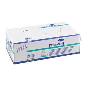 Peha Soft Handschuhe aus Latex puderfrei weich reißfest Größe M