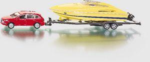 Siku PKW mit Motorboot Spielzeugauto; 2543