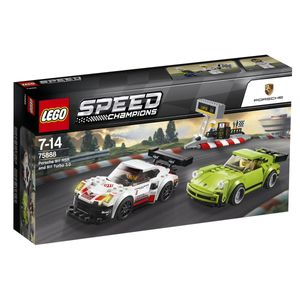 LEGO® Speed Champions Porsche 911 RSR und 911 Turbo 3.0, 75888