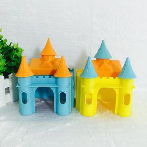 2 Stück Kleines Haustier Schloss Haus Hamster Versteck Spielzeug Für Hamster Meerschweinchen
