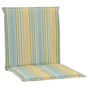 Gartenstuhl-Auflagen 2 Stk. Mehrfarbig 100×50×3 cm