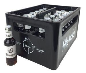 fritz-kola zuckerfrei 24x 200ml / Kiste inkl. 5,10€ Pfand