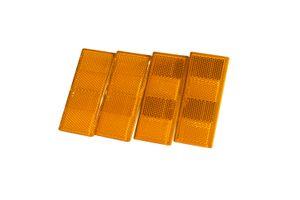 Rückstrahler in orange für Pkw-Anhänger