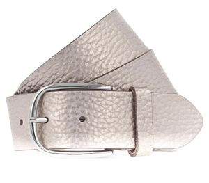 Vanzetti Glitter Radiance 40mm Metallic Belt W105 Platinumgold Metallic