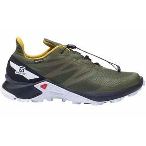 Salomon Shoes Supercross Blast Gtx Olive Ni Olive Night/Black/Arrowwoo 44