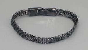 Pilgrim Damen Armband anthrazit 18cm, Hematite Beschichtet