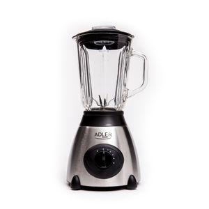 Adler Glas Standmixer 800 Watt 1,5 Liter Smoothie Maker Ice Crusher Universal Mixer