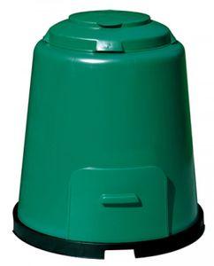 Komposter Schnellkomposter grün 280 Liter mit Boden GARANTIA 600012