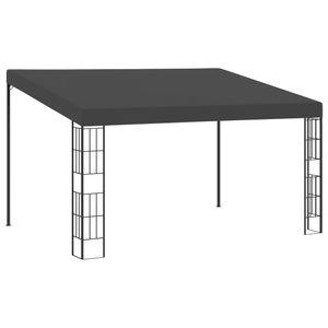 vidaXL Wand-Pavillon 3x4 m Anthrazit Stoff