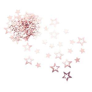 Oblique Unique Konfetti Sterne Tisch Deko für Hochzeit Geburtstag Party Weihnachten über 300 Stk - roségold