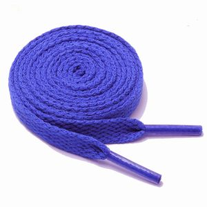 Schnürsenkel flach 120 cm 18# royalblau 8 mm breit